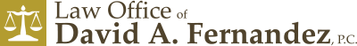 Law Office of David A. Fernandez, P.C. Header Logo